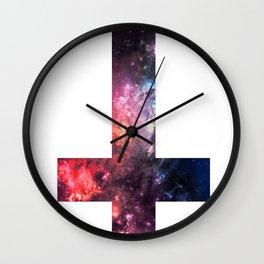 Galaxy Cross of Saint Peter 2 Wall Clock