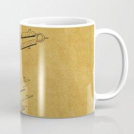 Hair Straightener Patent 1 Coffee Mug