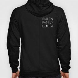 Emlen Family Doula (white logo) Hoody