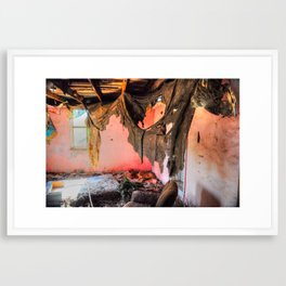 If These Walls Could Talk... Framed Art Print