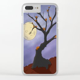 The Halloween Tree Clear iPhone Case