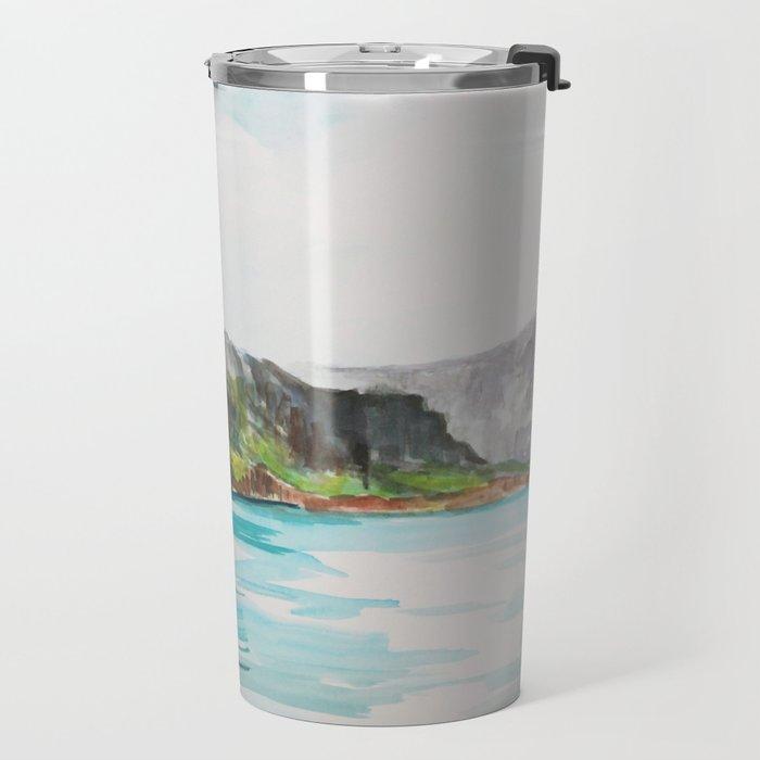 Napali Coast Dreaming Travel Mug