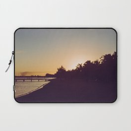 Sunset Beach Laptop Sleeve