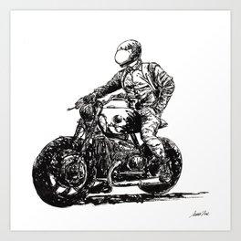 Rider 9 RAW Art Print
