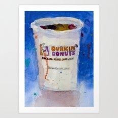 Dunkin' Donuts Art Print