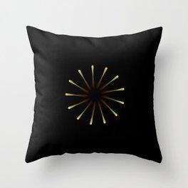 Dark Hole Throw Pillow