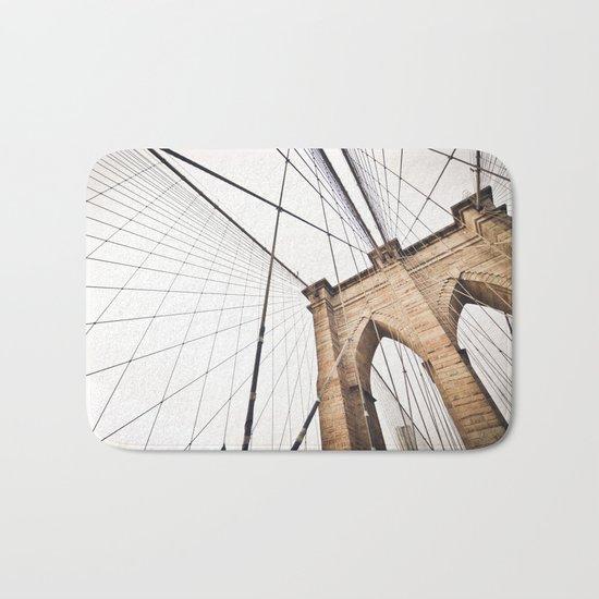 Brooklyn Bridge I Bath Mat