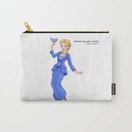 Princess Hillary Clinton (Trumble Cartoon) Carry-All Pouch