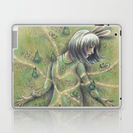 Bunny Girl I:  All Roads Lead to Within Laptop & iPad Skin