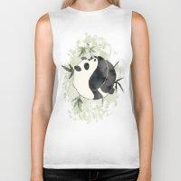 yin yang Biker Tanks featuring Yin Yang by Sah Matsui