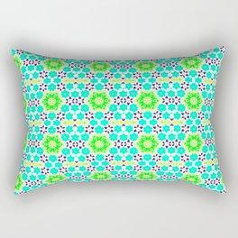 tidal teal pattern Rectangular Pillow
