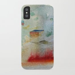waxing crescent.three iPhone Case