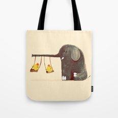 Elephant Swing Tote Bag