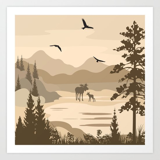 My Nature Collection No. 40 Art Print