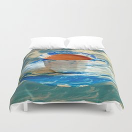 CUP OF CLOUDS Duvet Cover