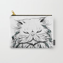 Poetic Persian Cat Carry-All Pouch