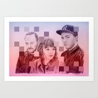 chvrches Art Prints featuring CHVRCHES by Cody Rayn