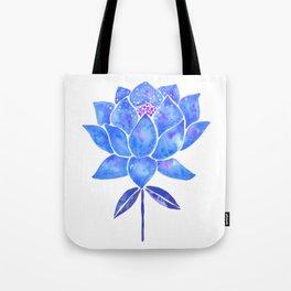Sacred Lotus – Blue Blossom Tote Bag