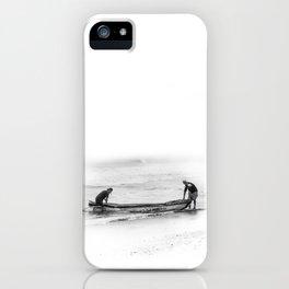 Fishermen iPhone Case