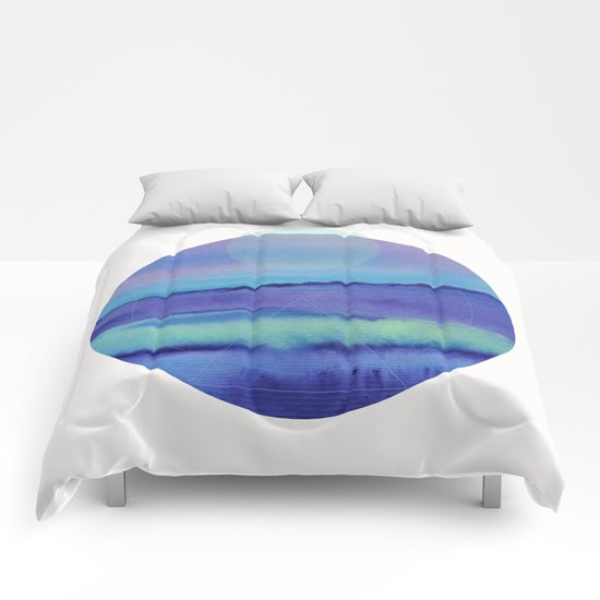 Watercolor S. 03 Comforters