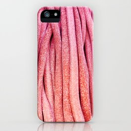 Long colorful marmalade iPhone Case