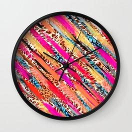 ABSTRACT SWOOSH Wall Clock