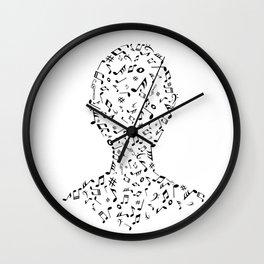 Music portrait Wall Clock