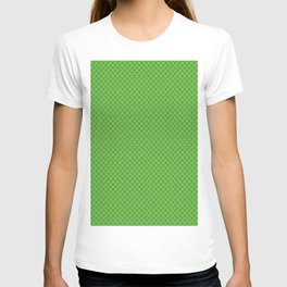 Green Scales Pattern T-shirt