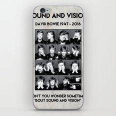 David Bowie : Sound and Vision iPhone & iPod Skin