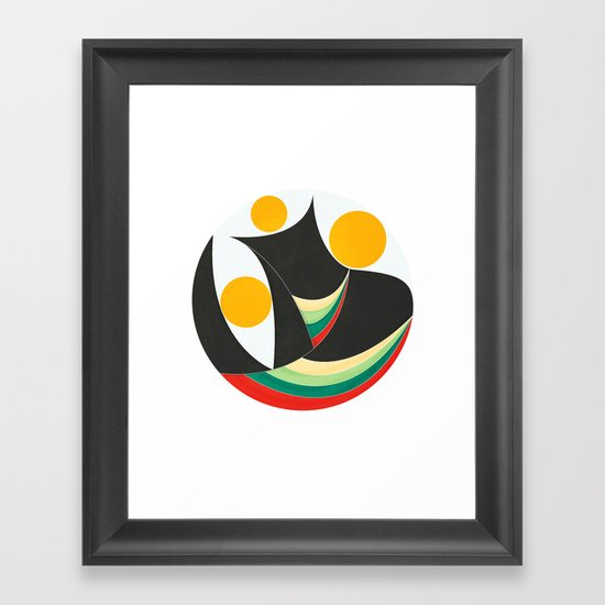 The Three Wizzards Framed Art Print