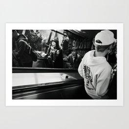 Moving Forward Art Print