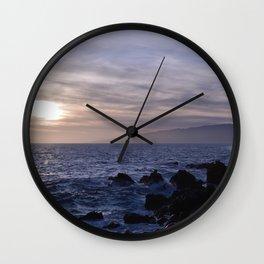 Primo giorno. Primo tramonto. Wall Clock