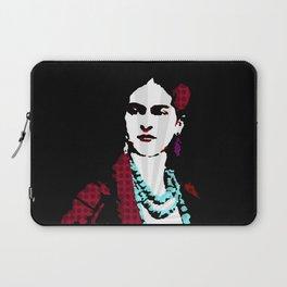 Portrait of artist Frida Kahlo 8. Laptop Sleeve