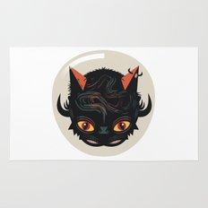 Devil cat Rug