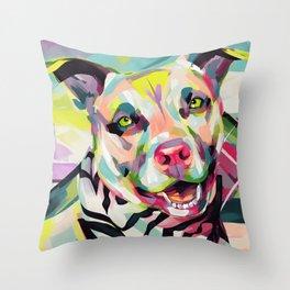 Rockstar Pup Throw Pillow