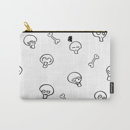 Expressive Skulls Carry-All Pouch