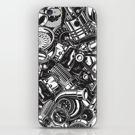 Automobile car parts pattern iPhone Skin