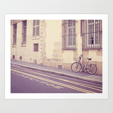 Special Delivery - Paris Bicycle Art Print
