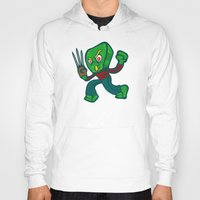 freddy krueger Hoodies featuring Gumby Krueger by Artistic Dyslexia