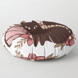 Japanese Kitty Floor Pillow