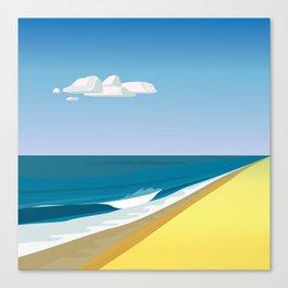 Rothko at the Beach Canvas Print
