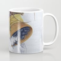hat Mugs featuring Hat by Veronica Casas
