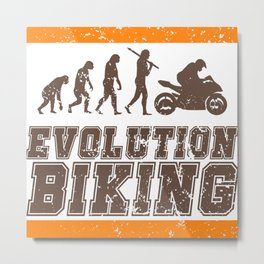 Evolution Biking | Motorcycle Street Speed Metal Print