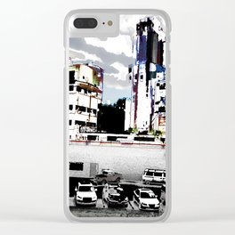 fifty trips around the sun Clear iPhone Case