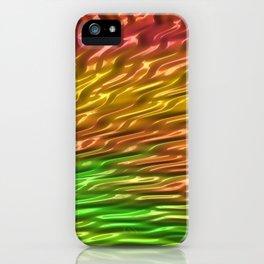 Squalling Harpoon Fractal Design 10 iPhone Case