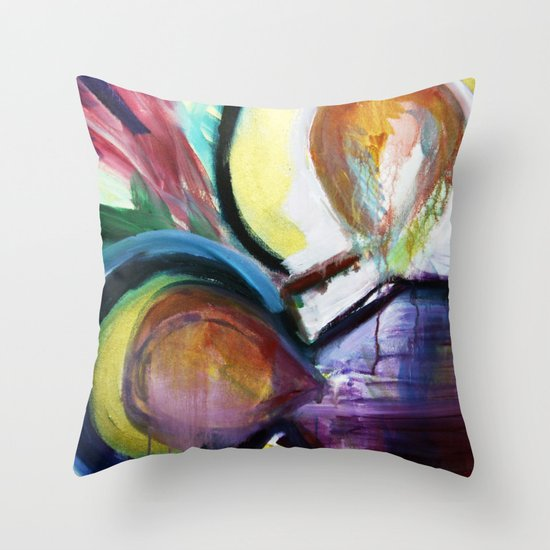 Off the Cross Icon Throw Pillow