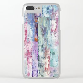 Abstract 195 Clear iPhone Case