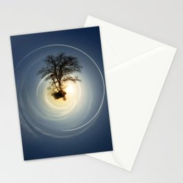 Tiny Planet 5 - The Last Lampost Stationery Cards