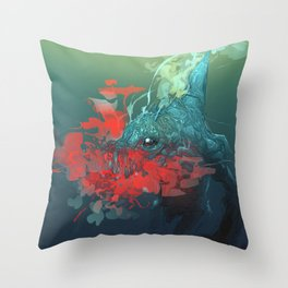 Nanaue Throw Pillow