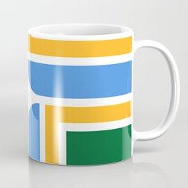 flag of Portland, Oregon. Coffee Mug